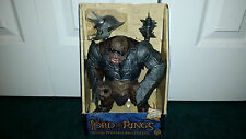 "Battle Troll 10"" Rotocast Deluxe Lord Of The Rings ROTK LOTR Toybiz SEALED MISP"
