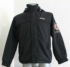 Boys Enfant JEAN PAUL CHAMONIX Jacket Hooded Black Nylon/Poliester Size 14