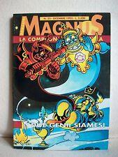 Magnus - La Compagnia della Forca - I due genii siamesi - Granata Press 1993