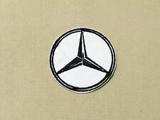 MERCEDES BENZ STAR LOGO BADGE CAR MOTORCYCLE BIKER RACING PATCH - MADE IN USA