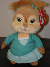 NMT* Ty Beanie Baby ~ ELEANOR ~ Chipette Alvin and the Chipmunks ~ MWNMT ~ NEW