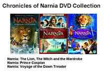 CHRONICLES OF NARNIA TRILOGY 1 2 3 Movie Film DVD Complete Collection New UK Rel