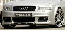 AUDI A4 B6 Genuine OEM Rieger Front Bumper In Primer ABS Plastic Brand New