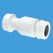 "Overflow Non Return Valve Check Valve One Way 19mm - 23mm 3/4"" Boiler Condense"