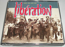 SUR UN AIR DE LIBERATION  58 CHANSONS & 11 POEMES DE L'EPOQUE  2 CD RARE
