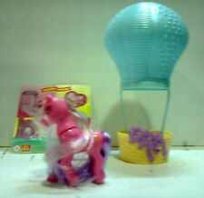 MY LITTLE PONY MIO MINI PONY MC DONALD'S 1999 SUN SPARKLE WITH BALLOON