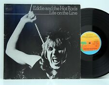Eddie and The Hot Rods        Life on the line        Island     FOC      NM # Y