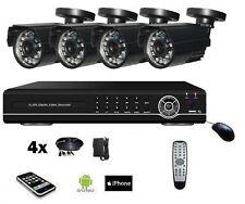 Caméra Extérieur Bullet Kit de Vidéo Surveillance Système complet