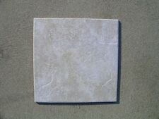 Sassoulo Ceramic Floor Tile 1100 Square Feet White with Tan