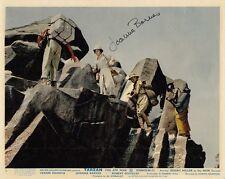 JOANNA BARNES~HAND SIGNED FRONT OF HOUSE CARD (STILL)~TARZAN, THE APE MAN~'59 (B