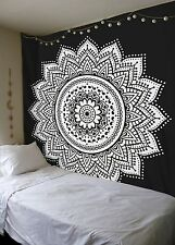 Dorm Decor Wall Hanging Hippie Tapestry Bohemian Bedspread Indian Ethnic Mandala