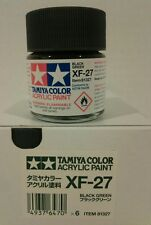 Tamiya acrylic paint XF-27 Black green 23ml.
