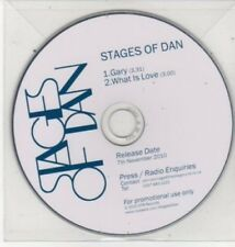 (BQ933) Stages of Dan, Gary / What is Love - DJ CD
