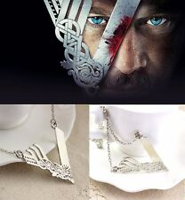 The Vikings V necklace pendant cosplay show Vikings Ragnar Lagertha Floki XMAS