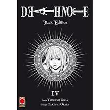 DEATH NOTE BLACK EDITION 4 (DI 6) RISTAMPA - PLANET MANGA PANINI - NUOVO
