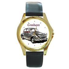 MORRIS MINOR 1000 CLASSIC CAR PERSONALISED WRISTWATCH **CHOOSE ANY NAME***
