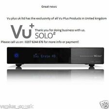 GENUINE VU+ Solo 2 Full HD DVB-S2 Twin + 750GB