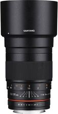 NEW Samyang 135mm F2.0 Full Frame Telephoto Lens for SLR and DSLR CAMERAS w/Case