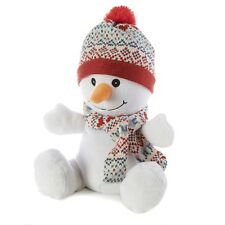 Intelex Warmies Snowman Cozy Plush Fully Microwaveable Soft Cuddly Heatable Toy