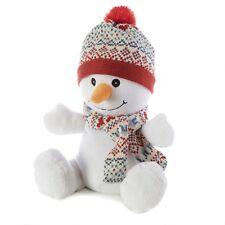 Intelex Warmies SNOWMAN Cozy Plush pienamente microwaveable COCCOLONE Morbido Giocattolo Riscaldabile