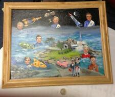 THUNDERBIRDS BOB BELL PAINTING 2003 GERRY ANDERSON