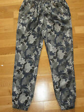 next blue mix camoflague tapered trousers size 8 eur 36 brand new with tags