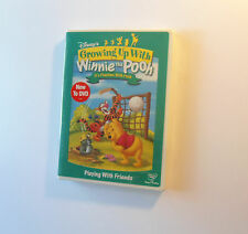 Growing Up with Winnie the Pooh: It's Playtime with Pooh Friends DVD NEW! Disney