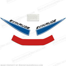 Evinrude 1968 9.5hp Outboard Decal Kit Discontinued Decal Reproductions in Stock