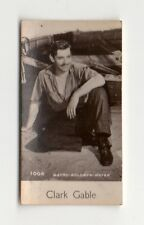 Clark Gable 1940 De Beukelaer Cookies (Belgium) Film Star Card #1006