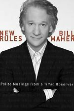 Book New Rules Polite Musings from a Timid Observer by Bill Maher 2005