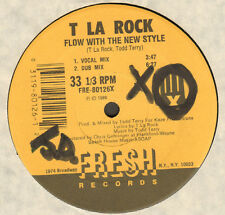 T LA ROCK - Flow With The New Style - Fresh