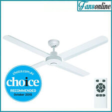 Fanco Eco Motion Metal Blade DC Ceiling Fan with Remote - White 52""