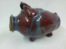 TERRY KING SEAGROVE NC KINGS POTTERY PIGGY BANK