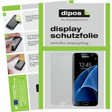 6x Samsung Galaxy S7 Protector de Pantalla protectores mate