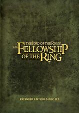 The Lord of the Rings: The Fellowship of the Ring Extended (5 DVD) Region 2 UK