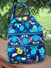 VERA BRADLEY Lunch Bunch Bag School Office Travel Midnight Blues  FREE SHIP