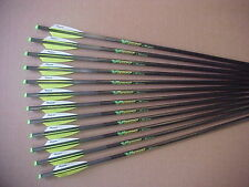 "CROSSBOW BOLTS FOR PSE VICTORY 1 DOZEN CARBON H/MOON 20"" FREE  POINTS !"