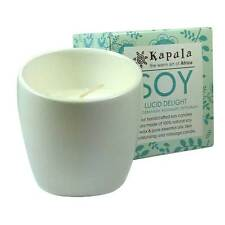 Rose Geranium Aromatherapy Candle in Ceramic Pot - Handmade in South Africa