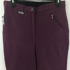 Dublin Equestrian Horse Riding Pants Womens Burgundy UK 16/30 EU 42 USA 12/14
