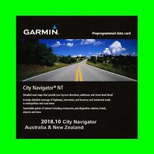 GARMIN CITY NAVIGATOR AUSTRALIA & NEW ZEALAND NT 2018.10 THE LATEST MAP GPS