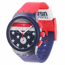 Team USA Swatch Chrono Watch - Blue/Red - Olympics