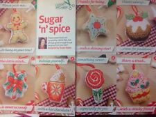 (X) Xmas Food For Decorations Or Cards Christmas Cross Stitch Chart