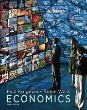 Economics by Paul Krugman and Robin Wells (2012, Hardcover, Revised)