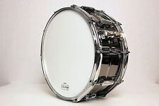 "Ludwig LB417 Black Beauty Snare Drum 6.5x14"" USA"