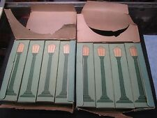 COLBER BOULEVARD LAMPS 14V TWO SETS OF 4 ORIGINAL BOXES
