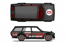 Hot Wheels Japan Historics Datsun 510 Advan Racing Decals