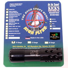 KICKS HIGH FLYER PORTED BLACK CHOKE TUBE FULL 10GA REMINGTON SHOT GUN