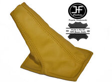 YELLOW LEATHER MANUAL GEAR STICK GAITER FITS TOYOTA CELICA ST20 AT20 94-99