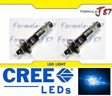 CREE LED 30W H1 BLUE 10000K TWO BULB HEAD LIGHT PLUG PLAY QUALITY REPLACEMENT