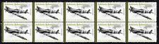 JOHNNIE JOHNSON WWII SPITFIRE ACE STRIP OF MINT STAMPS2